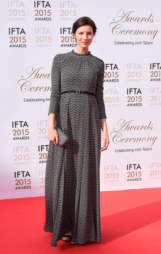 Caitriona Balfe at the IFTA Awards 2015 at The Mansion House