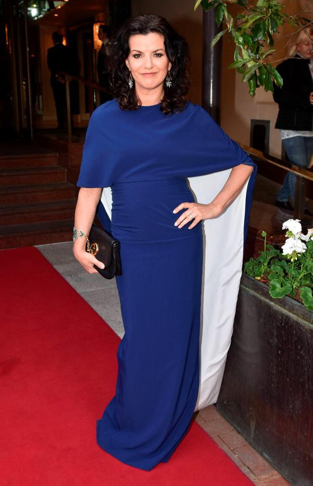 Deirdre O'Kane at the IFTA Awards 2015 at The Mansion House. It was revealed on Wednesday that the actress and comedian will host the 2016 ceremony.