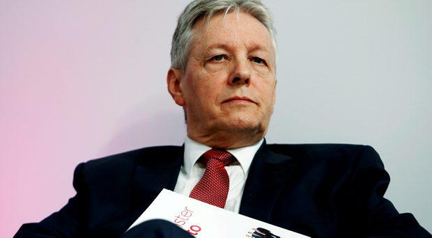 Northern Ireland's First Minister Peter Robinson