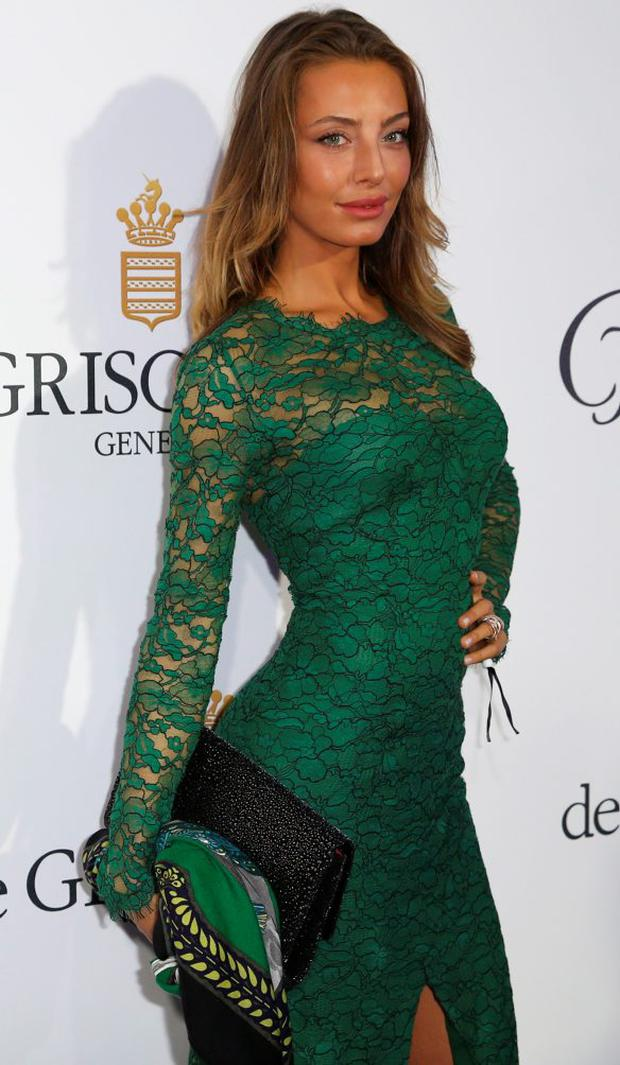 Italian actress Alessia Tedeschi attends the De Grisogono Party on the sidelines of the 68th annual Cannes Film Festival