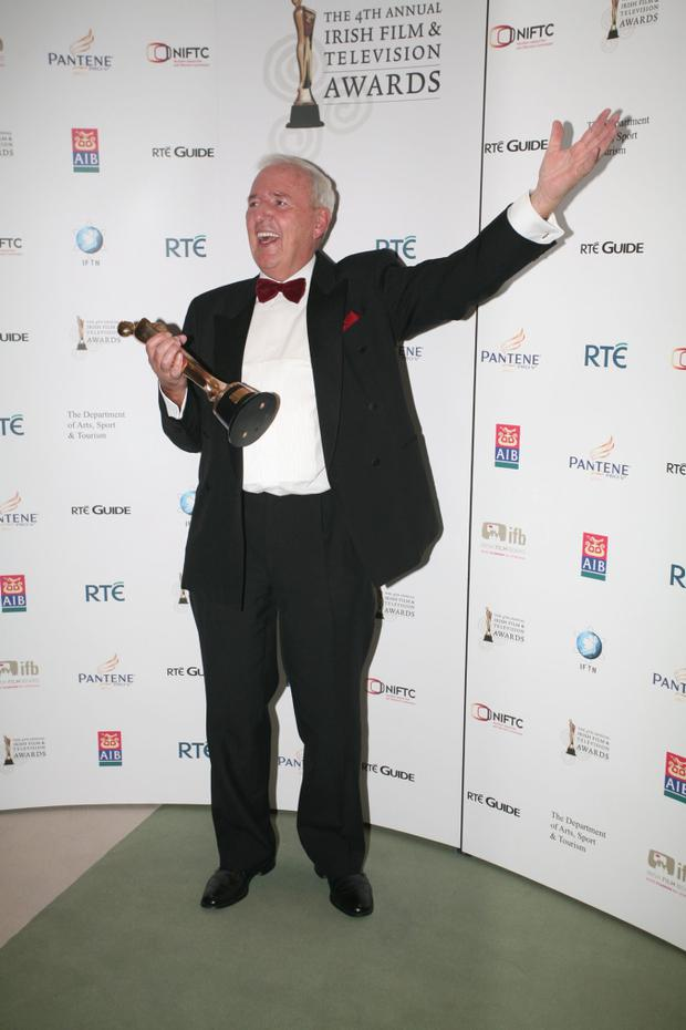 The late Bill O'Herlihy at 2007's IFTA Awards