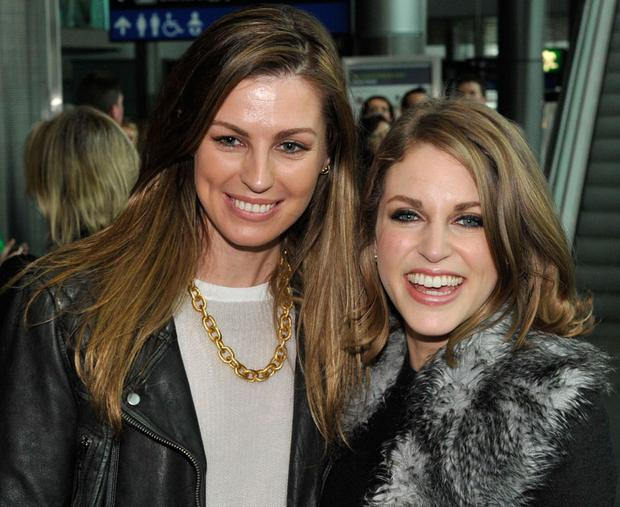 Aoife Cogan and Amy Huberman