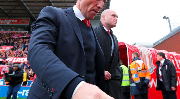 Brendan Rodgers position remains unchanged despite Stoke defeat