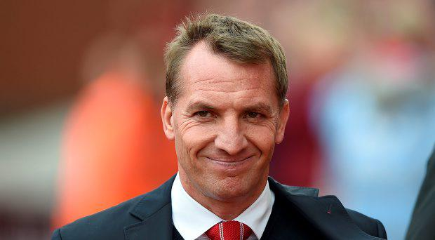 Liverpool's Manager Brendan Rodgers