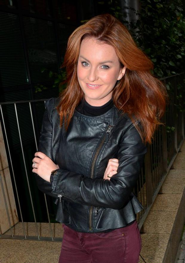 Mairead Farrell shows off her enormous diamond engagement ring at Today FM