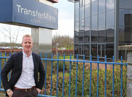 TransferMate managing director Barry Dowling