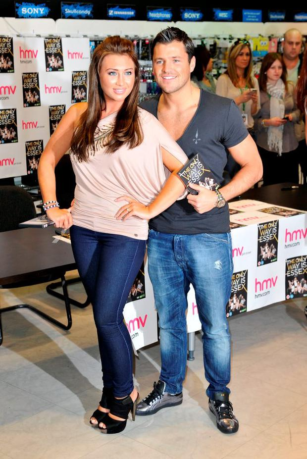 Lauren Goodger and Mark Wright in 2011