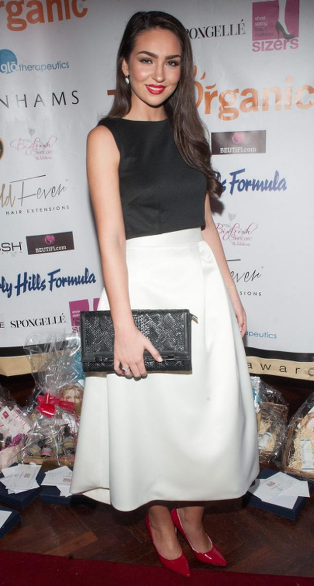Shauna Lindsay pictured at the Irish Beauty Blog Awards sponsored by TanOrganic at Lillies Bordello