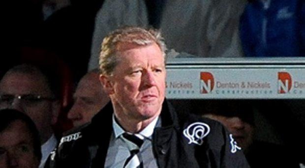 Derby County's Manager Steve McClaren