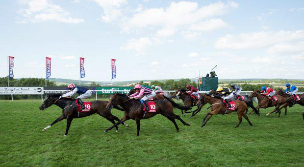 Moviesta (Paul Mulrennan) beats Swiss Spirit to win the King George Stakes
