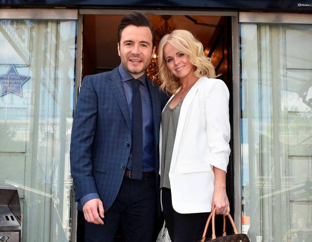 Shane and Gillian Filan in Dublin