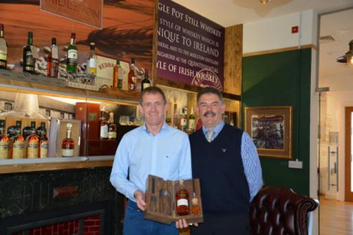 Greenacres owners Donal Morris and James O'Connor