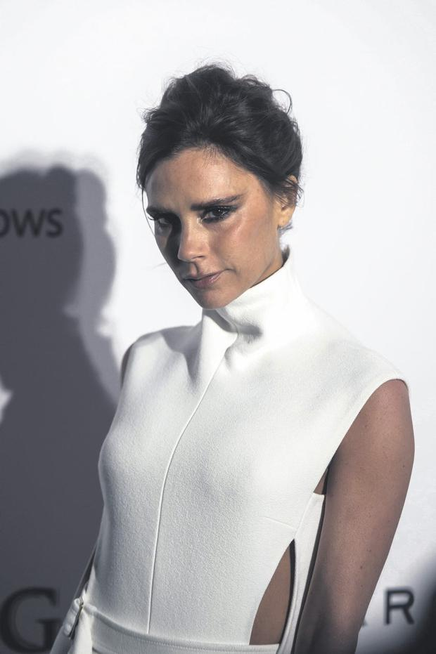 Victoria Beckham has sought help in the past for her skin breakouts.