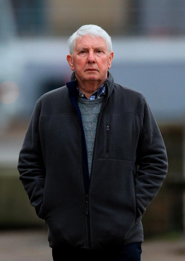 David Hennessy, who along with Colwyn Baker and Nigel Putman, was found guilty of historical sexual abuse at a school for vulnerable boys over a period of more than 30 years. Photo: Gareth Fuller/PA Wire