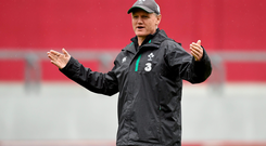 Joe Schmidt has admitted choosing the right players is a difficult task