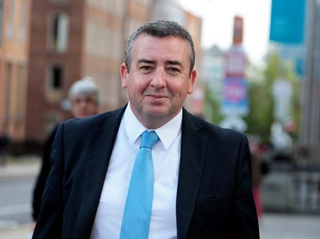 Ciarán Lynch is the chairman of the Banking Inquiry