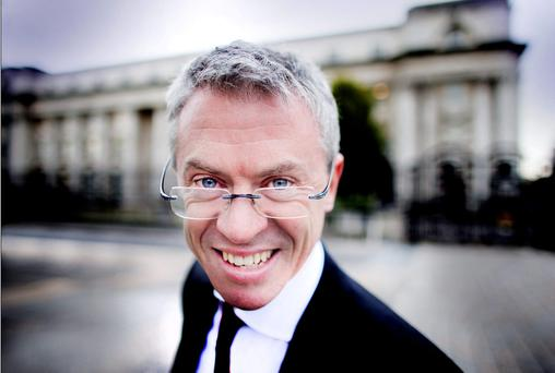 Sports pundit Joe Brolly