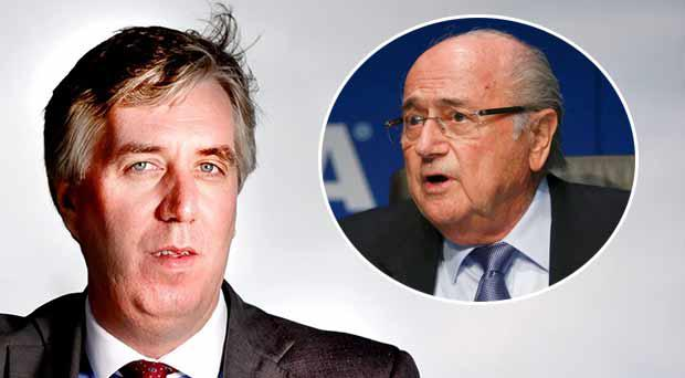 John Delaney can't see Sepp Blatter seeing out his four-year term