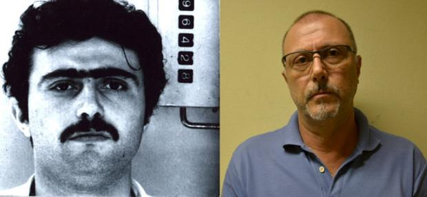 Pasquale Scotti has been on the run for more than 30 years Credit: Brazilian Federal Police