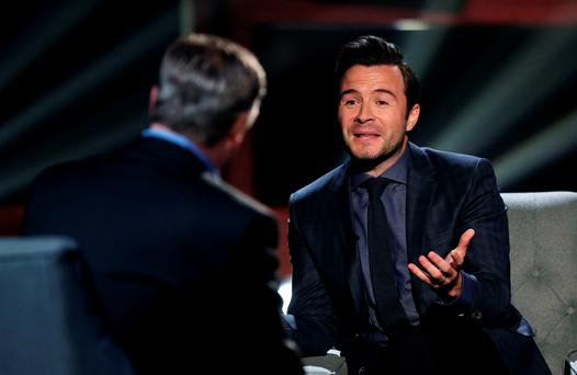 Shane Filan chats to Pat on Pat Kenny in the Round