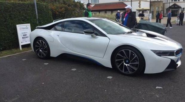 The car BMW gave to Rory McIlroy