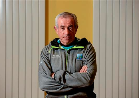 Fermanagh Manager Peter McGrath during the Fermanagh Open Media event earlier this week (Oliver McVeigh / SPORTSFILE)