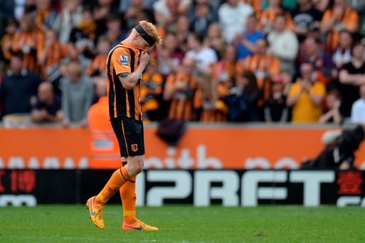 Paul McShane has been shown the door by Hull City