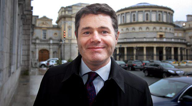 Transport Minister Paschal Donohoe will be overseeing the introduction of a Fixed Charge Notice fines system for cyclists
