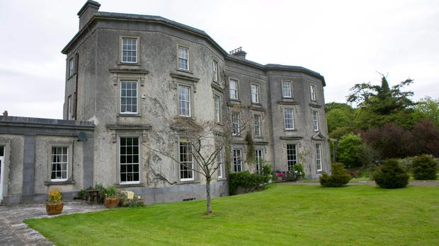 Loughton House Moneygall home of Minister James Reilly and his Wife Dorothy and Family it is up for Sale.