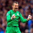 Aston Villa goalkeeper Shay Given is looking to feature in his first FA Cup final against Arsenal at Wembley this afternoon