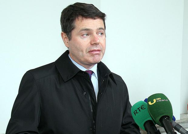 Paschal Donohoe: 'Ryanair stake is a matter for them'