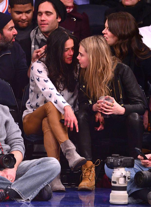 Michelle Rodriguez and Cara Delevingne dated in 2014