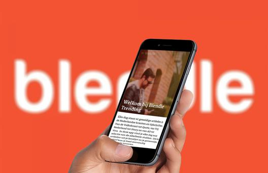 DOUBLE DUTCH: Blendle's app