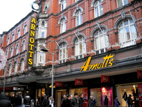 VICTORY IN DUBLIN: Noel Smyth agreed to buy out his company's rival and take full control of the capital's iconic department store Arnotts