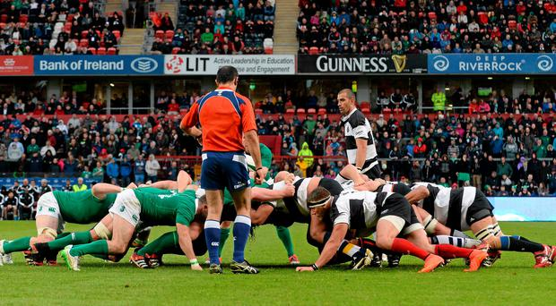 'On a miserably wet night in Thomond Park last week, Ireland closed their rugby season with a performance that was painful to watch'