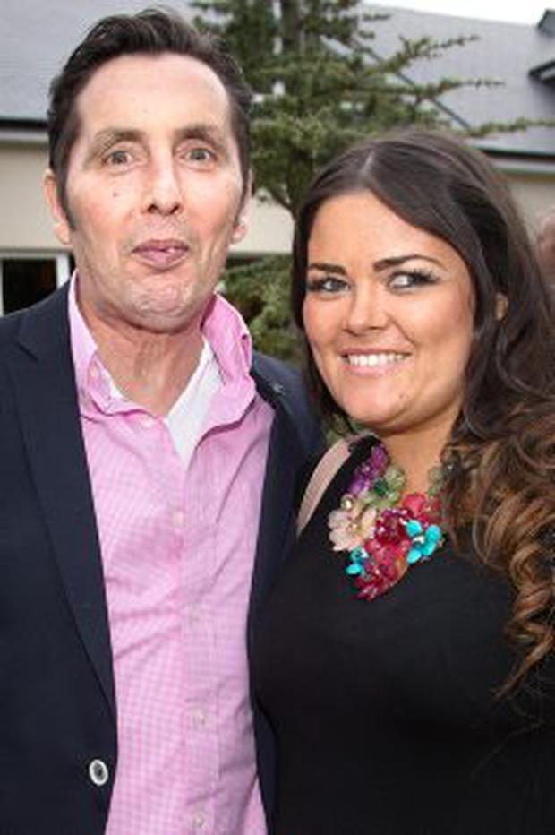 Christy Dignam with his daughter Kiara