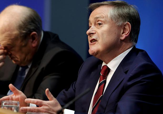 Mr Howlin yesterday passionately defended the merits of the deal, saying it allows the Government and the country to have certainty