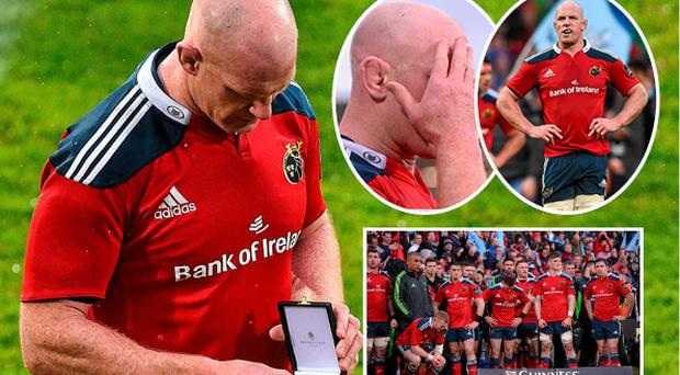 Paul O'Connel's Munster career ended in disappointment