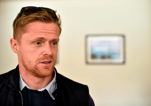 "Damien Duff has admitted ""I want to be right, I don't want to come back and play like a muppet"" (David Maher / SPORTSFILE)"