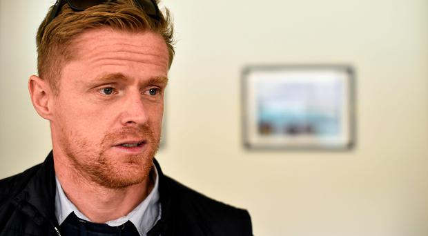 """Damien Duff has admitted """"I want to be right, I don't want to come back and play like a muppet"""" (David Maher / SPORTSFILE)"""