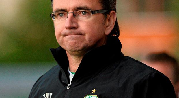 Pat Fenlon said that financial issues were the main reason for Shamrock Rovers' striking crisis
