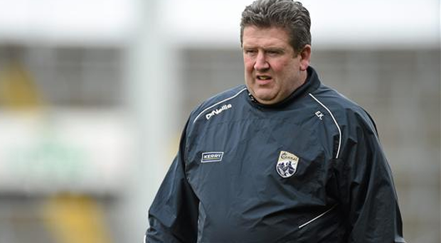 Manager Eamon Kelly was quick to dampen down expectations as Kerry blitzed the team that beat them in last year's Christy Ring Cup final to book a place in next week's decider
