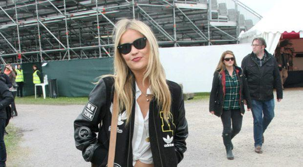 Laura Whitmore at Slane Castle
