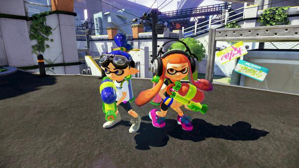 Splatoon: Colourful characters and clever map design