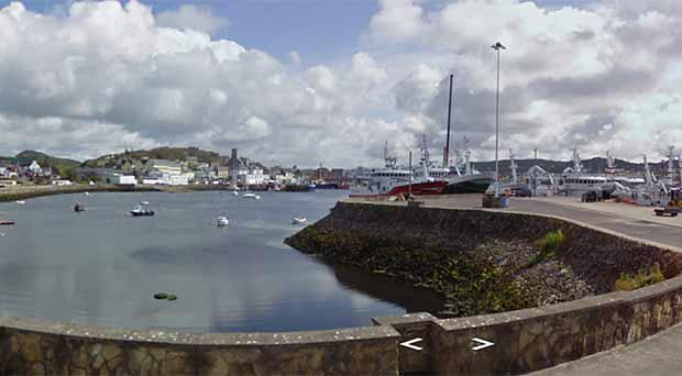 The Harbour in Killybegs, close to where the man was recovered. Photo: Google Maps