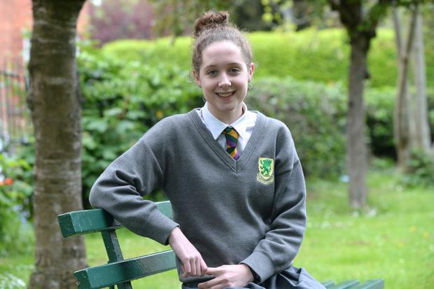 Isabel Doyle who attends Sandford Park and will be writing for the Herald during the Junior Cert.