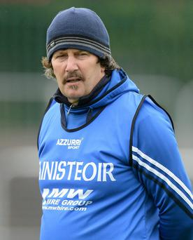 There have been intensive negotiations to bring back Laois manager Seamus Plunkett