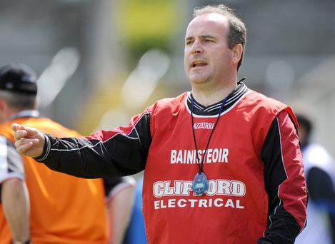 Sgt Michael Galvin was a former Sligo senior hurling manager