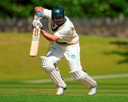 Ed Joyce put in a dominant display against theUnited Arab Emirates at Malahide