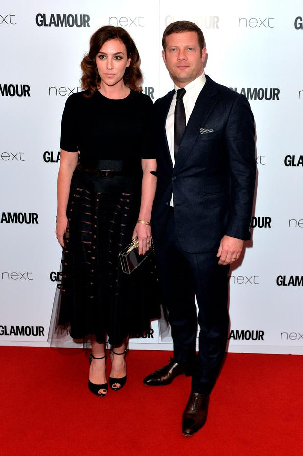 Dee Koppang and Dermot O'Leary attend the Glamour Women Of The Year Awards at Berkeley Square Gardens on June 2, 2015 in London, England.